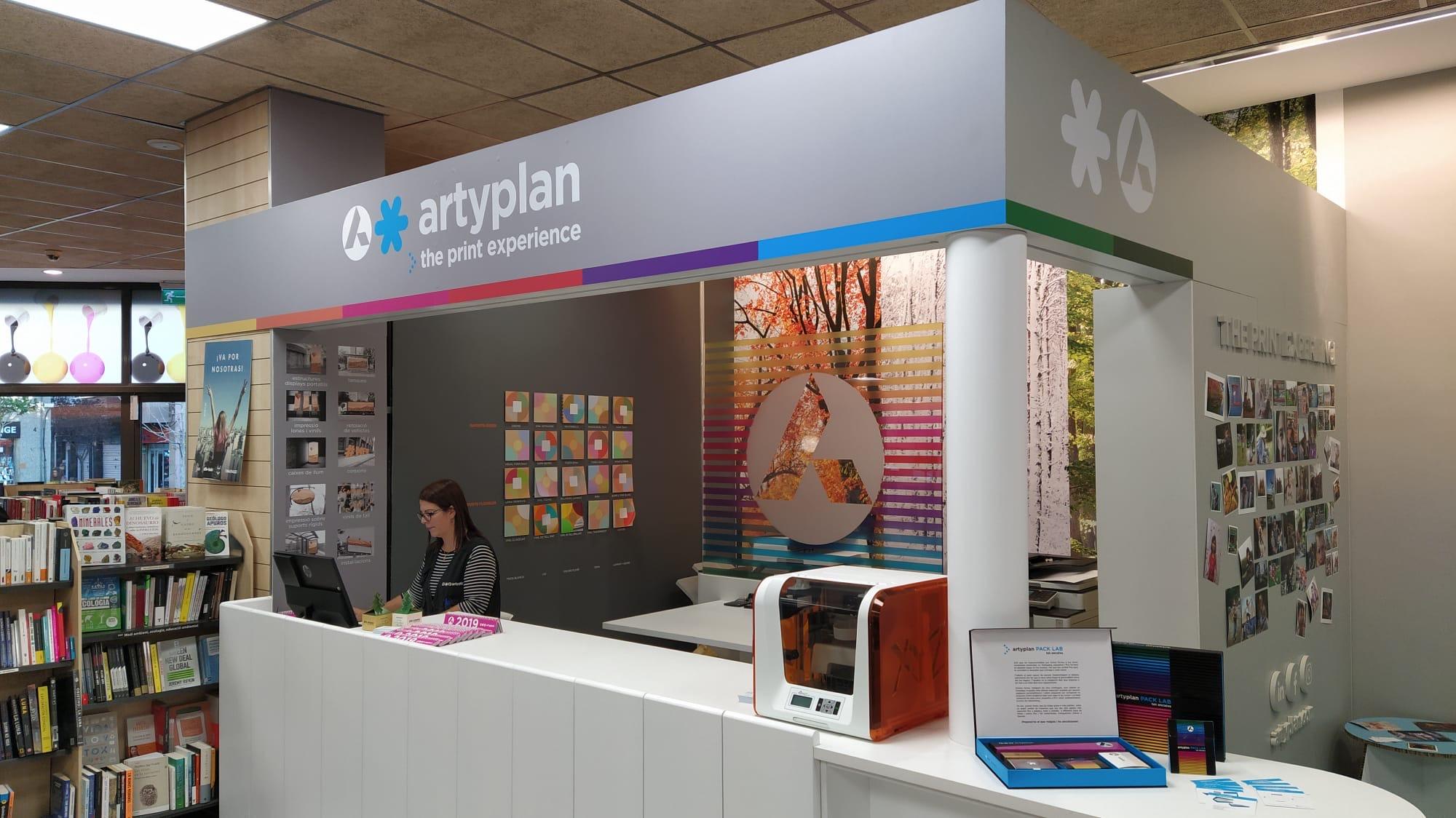 Artyplan obre un nou punt de venda dins l'Abacus de L'Hospitalet.